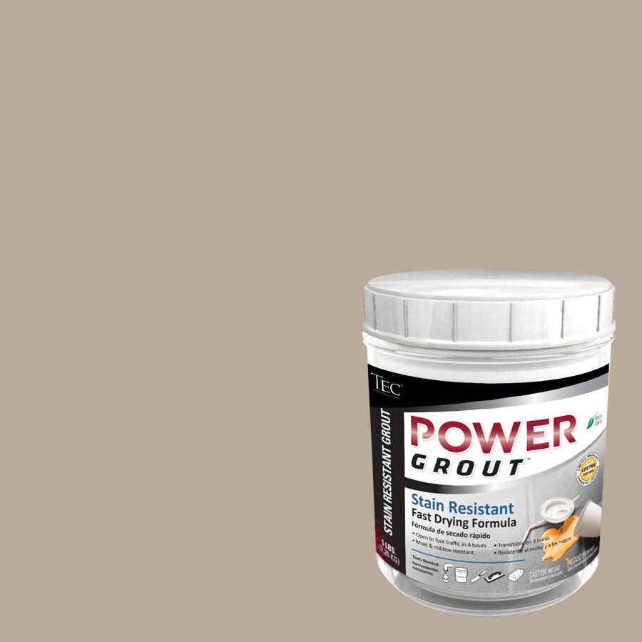 TEC 5-lb Light Smoke Sanded Powder Grout
