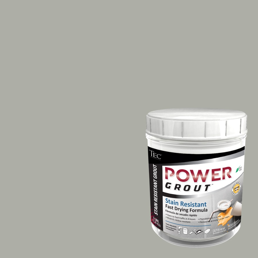 TEC 5-lb Standard Gray Sanded Powder Grout