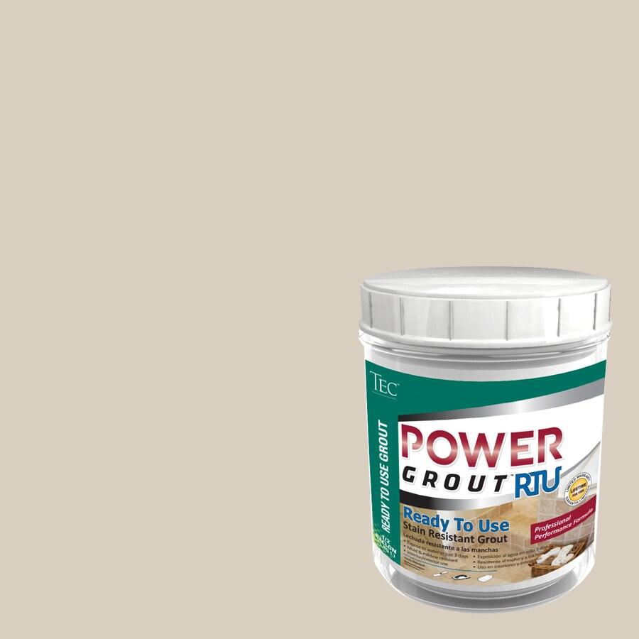 TEC 7-lb Antique White Sanded Premixed Grout