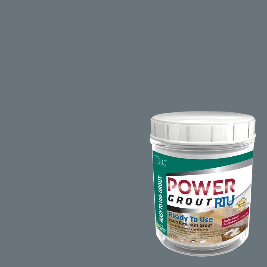 TEC 7-lb Charcoal Gray Sanded Premixed Grout