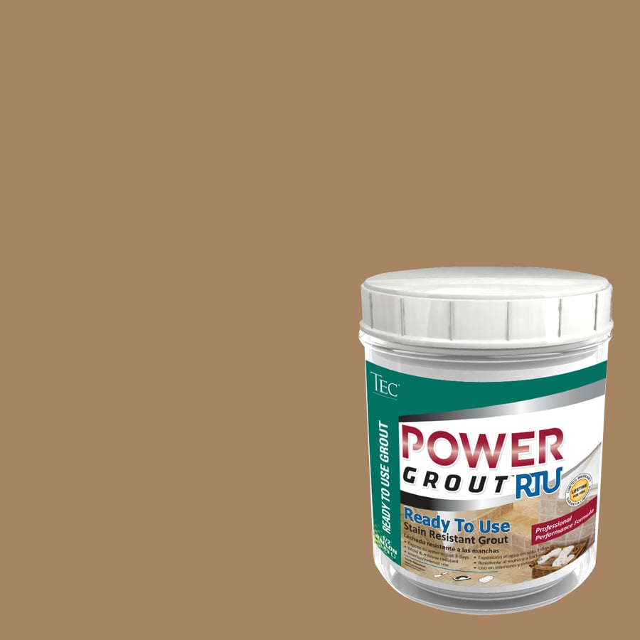 TEC 7-lb Light Buff Sanded Premixed Grout
