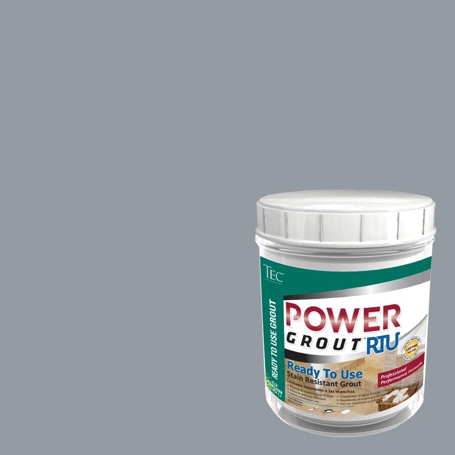 TEC 7-lb Delorean Gray Sanded Premixed Grout