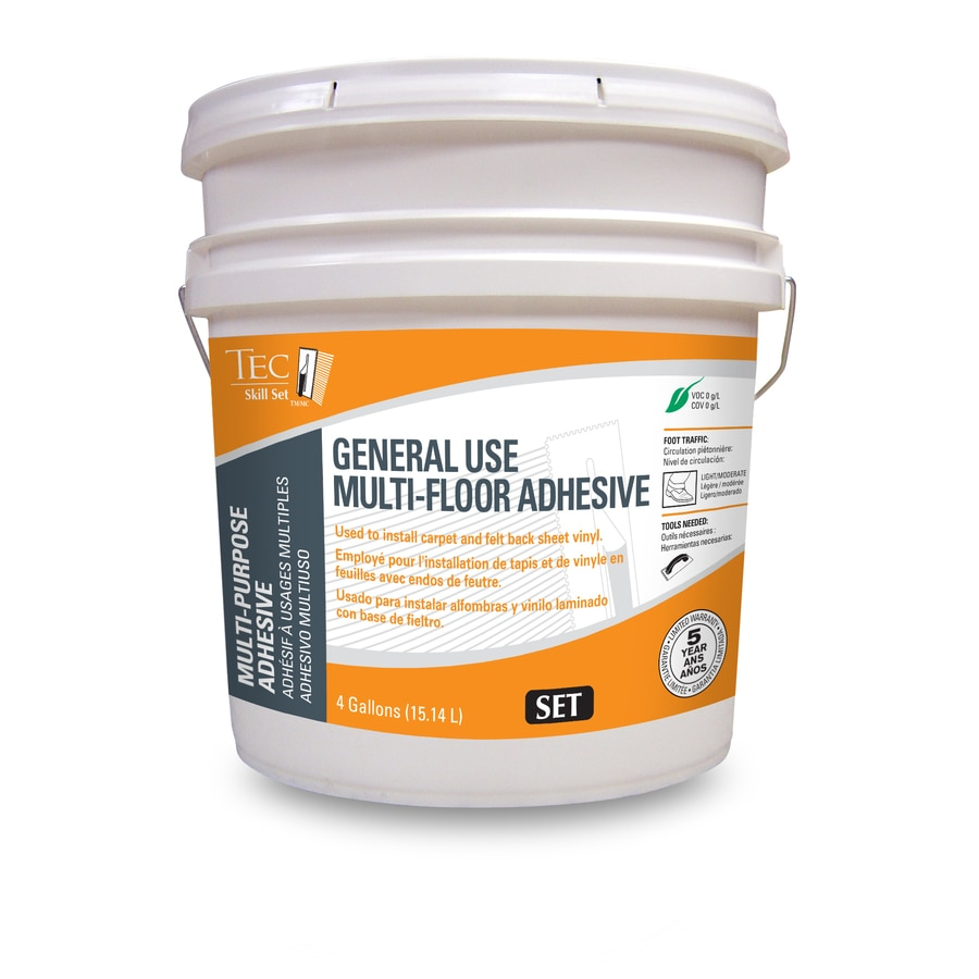TEC 4-Gallon Pail Trowel Universal Flooring Adhesive