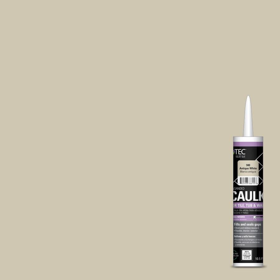 TEC Skill Set 10.5-fl oz Antique White Latex Kitchen and Bathroom Caulk