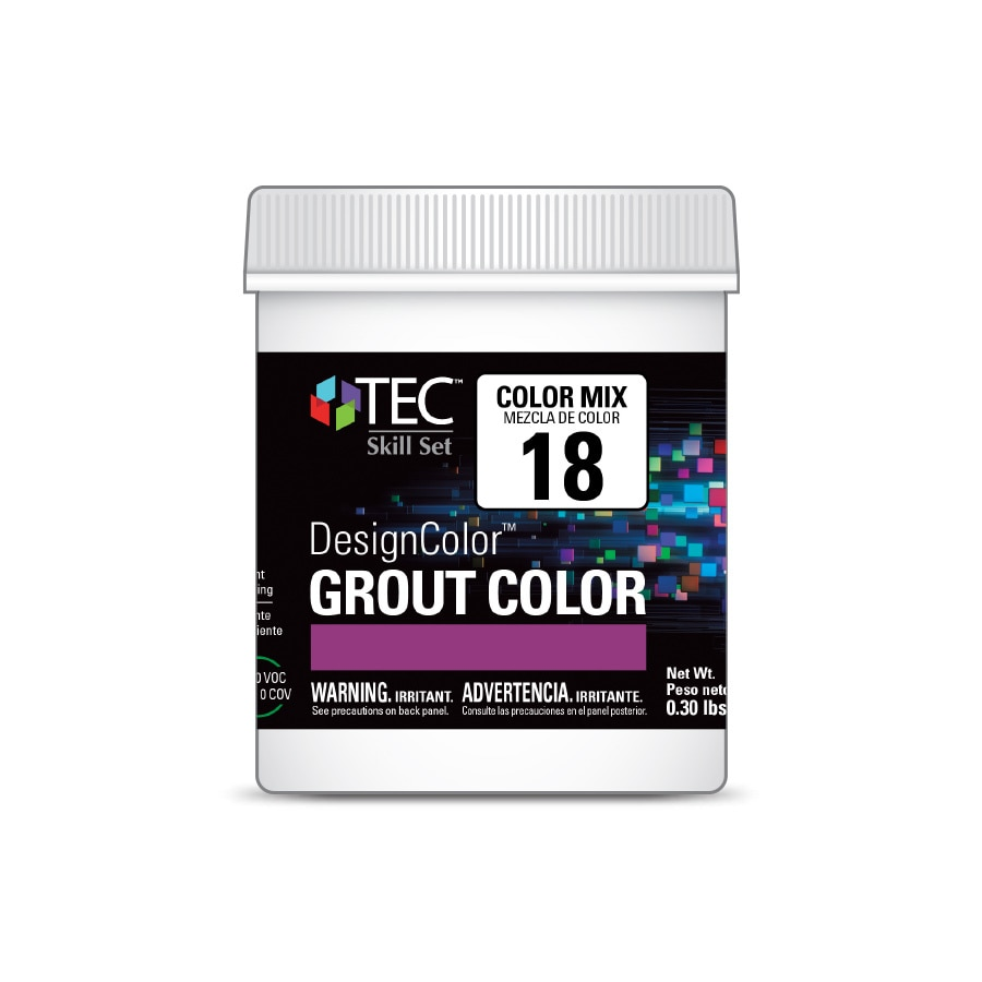 TEC Skill Set DesignColor #18 Light Chocolate 4-oz Grout Tint