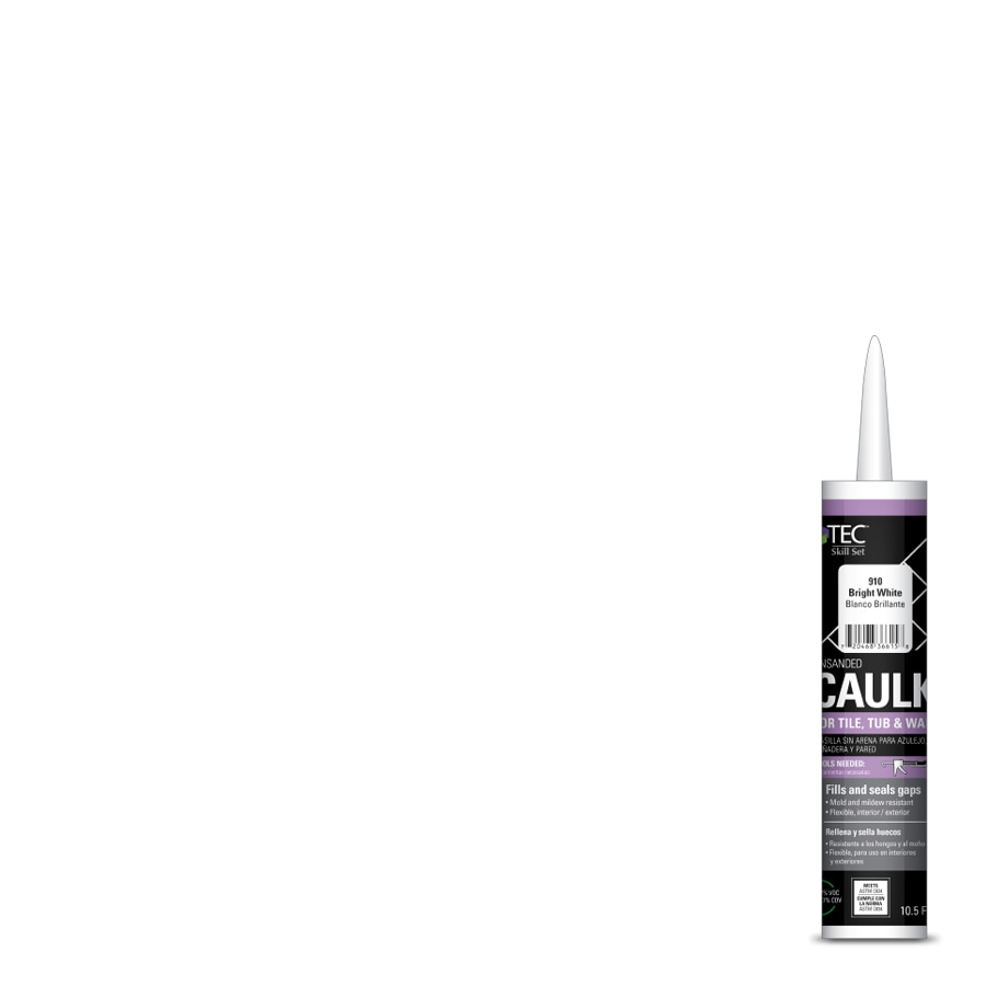 TEC Skill Set 10.5-fl oz Bright White Latex Kitchen and Bathroom Caulk