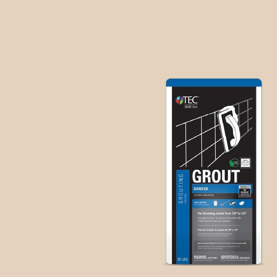 TEC Skill Set 25-lb Pearl Sanded Powder Grout
