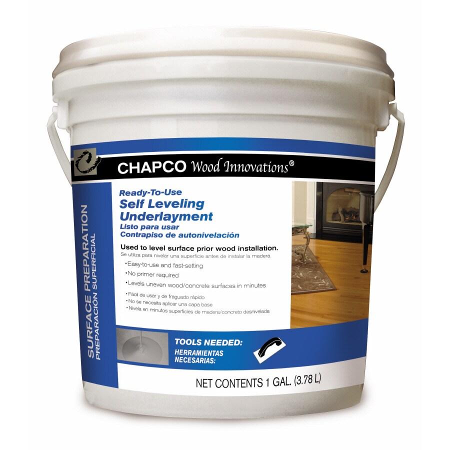CHAPCO 1-Gallon Self Leveling Underlayment
