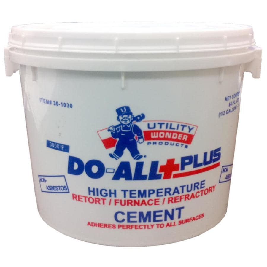 Durst 1/2 Gallon Do-All Furnace Cement