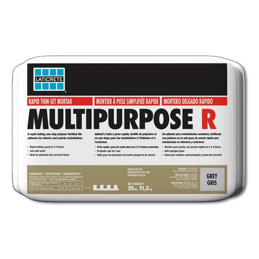 LATICRETE 25 lbs Grey Powder Polymer-Modified Mortar