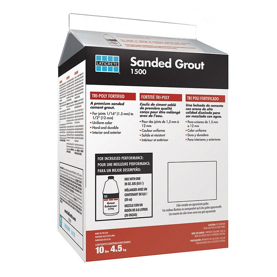 LATICRETE 10 lbs. Smoke Grey Sanded Powder Grout