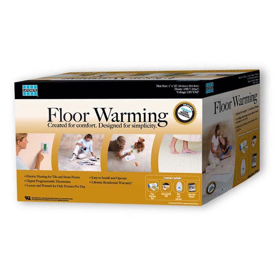 LATICRETE 120-Volt 1 x 12 Floor Warming Ma