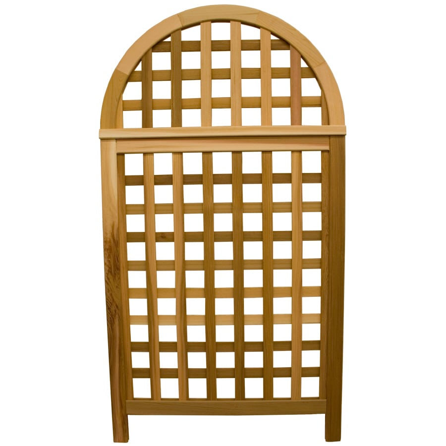 Garden Architecture 36.25-in W x 66.75-in H Natural Fence Garden Trellis