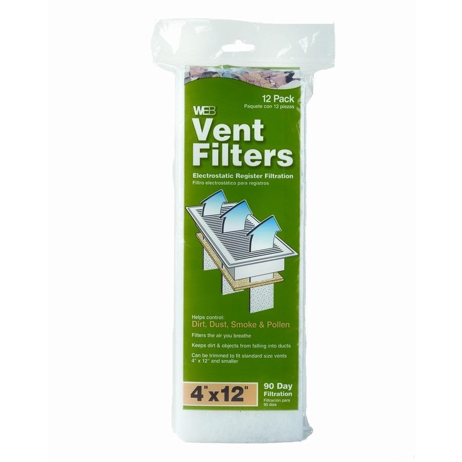 WEB Web Vent Register Filter