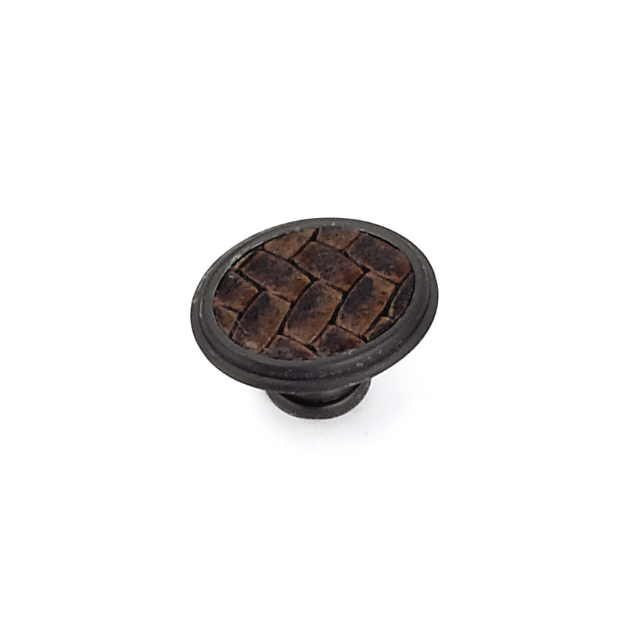 Laurey Oil-Rubbed Bronze Oval Cabinet Knob