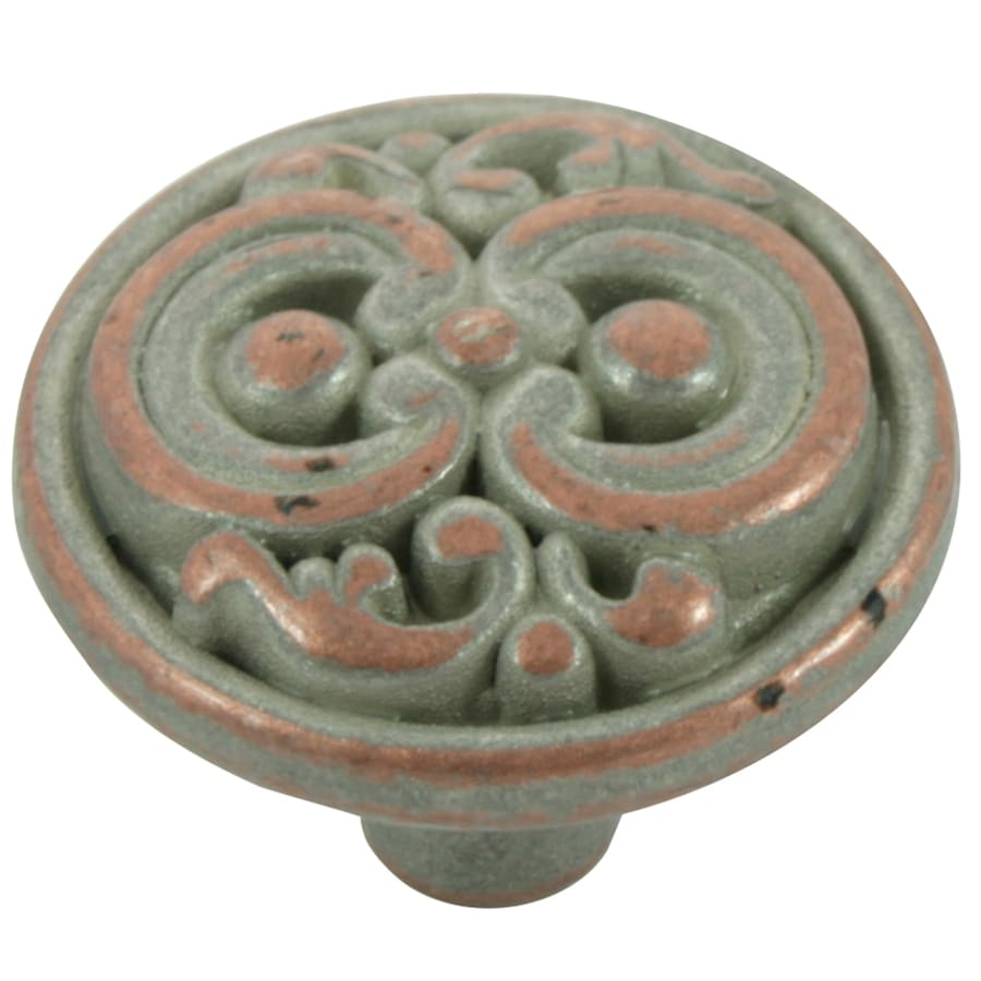 Laurey Weathered Nickel Round Cabinet Knob