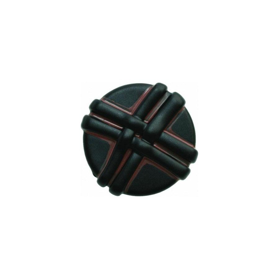 Laurey Black Round Cabinet Knob