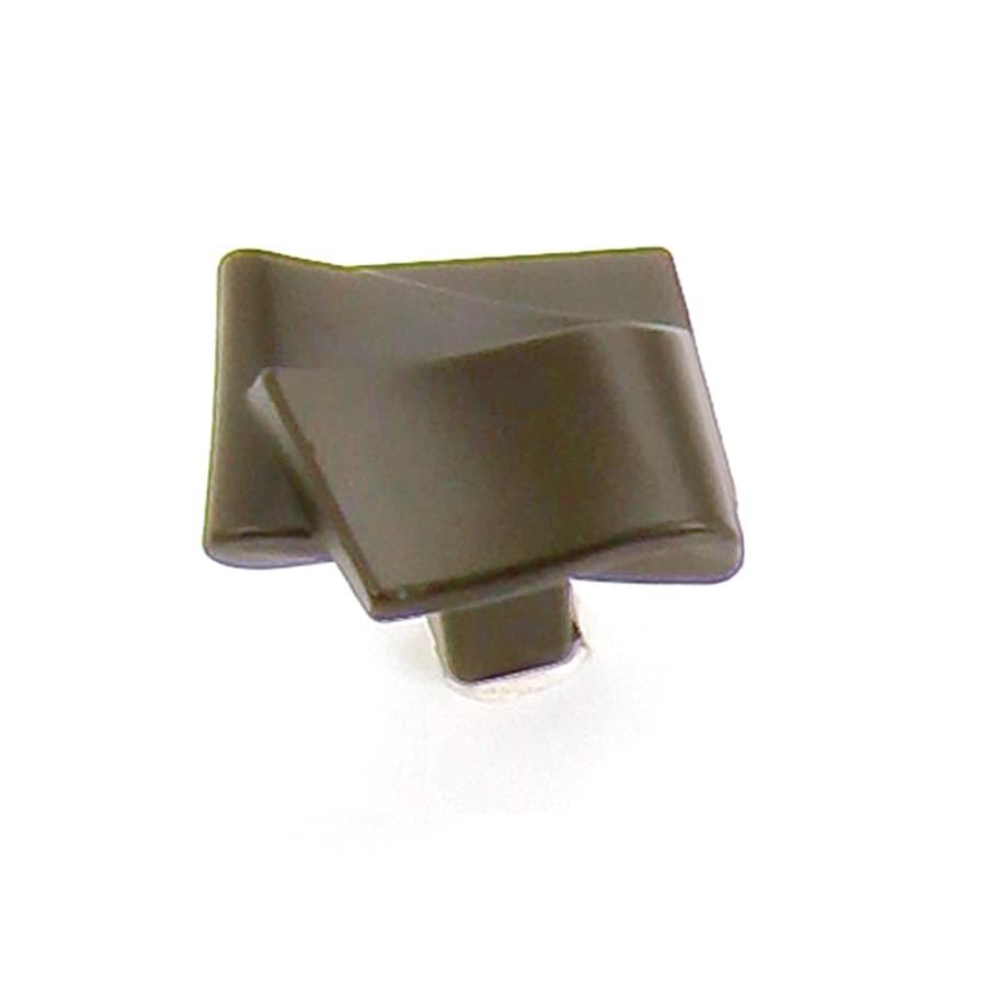 Laurey Oil-Rubbed Bronze Square Cabinet Knob