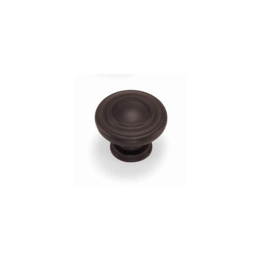 Laurey Nantucket Oil-Rubbed Bronze Round Cabinet Knob