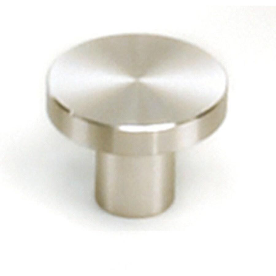 Laurey Melrose Stainless Steel Round Cabinet Knob
