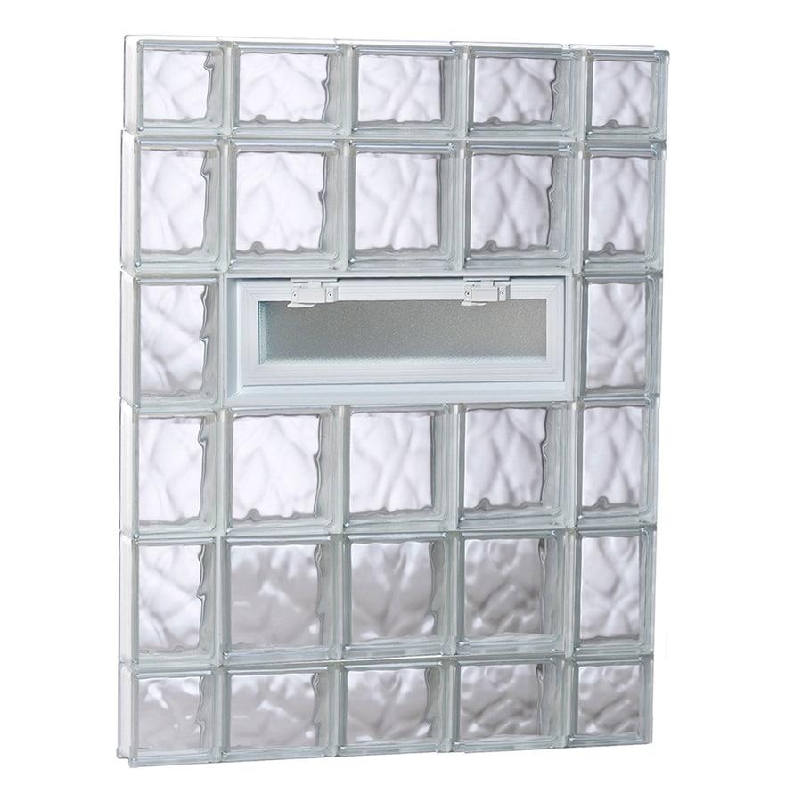 Shop Redi2set Wavy Pattern Frameless Replacement Glass