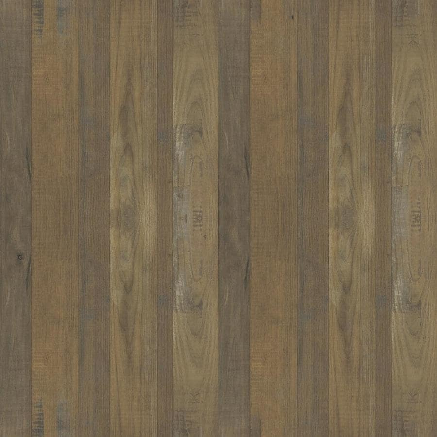 Formica Brand Laminate 30-in x 120-in Salvage Planked Elm Matte Laminate Kitchen Countertop Sheet