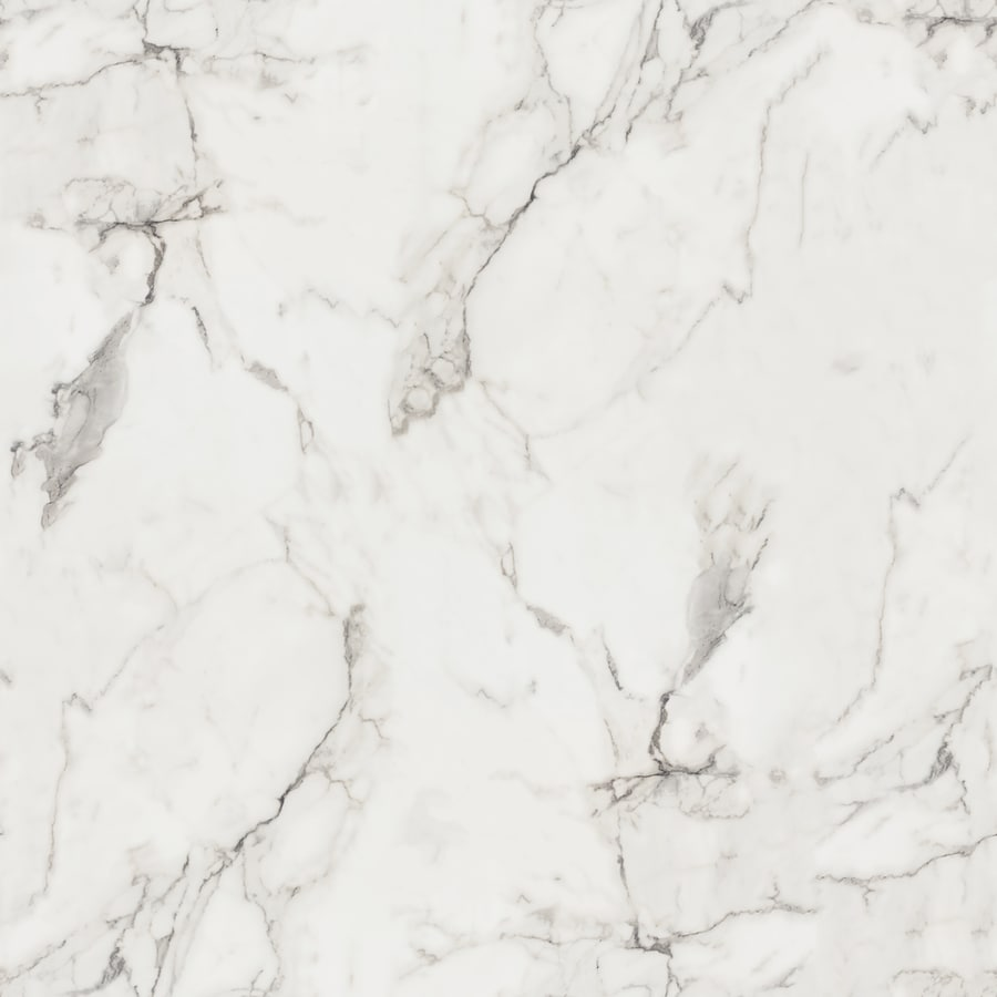 Formica Brand Laminate 48-in x 96-in Calacatta Marble 180Fx-Etchings Laminate Kitchen Countertop Sheet