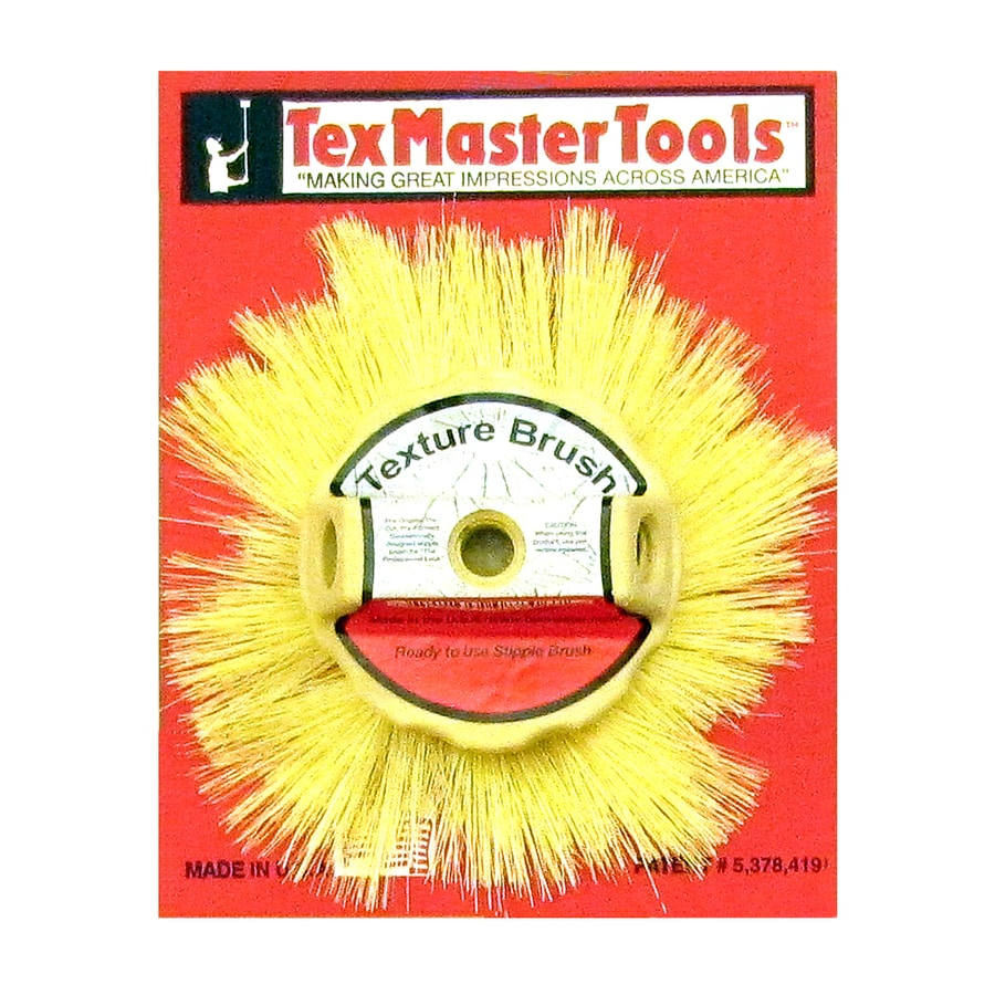 TexMaster Tools 8.5-in Natural Stippling Faux Finish Paint Brush