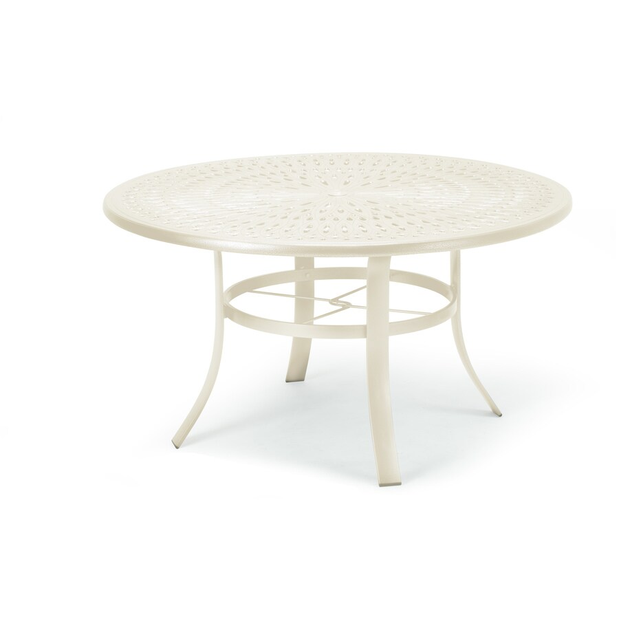 Sun Isle 42-in W x 42-in L Round Aluminum Dining Table