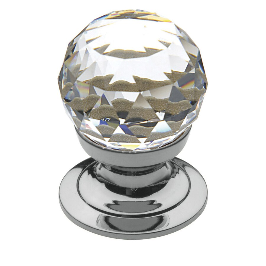 BALDWIN Estate Polished Chrome Round Cabinet Knob