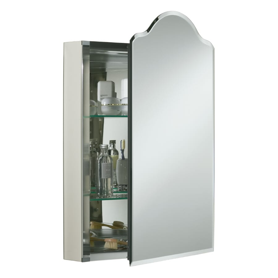 Shop Kohler 30 In H X 20 In W Metal Recessed Medicine