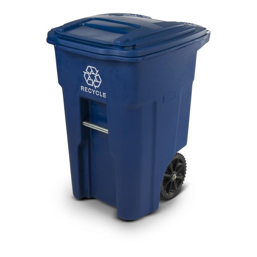 Toter 48-Gallon Blue Wheeled Trash Can