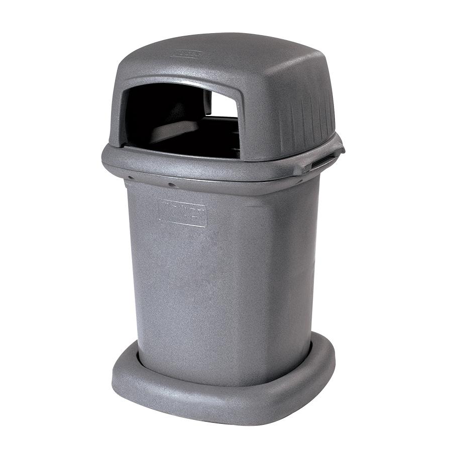 Toter 45-Gallon Graystone Trash Can