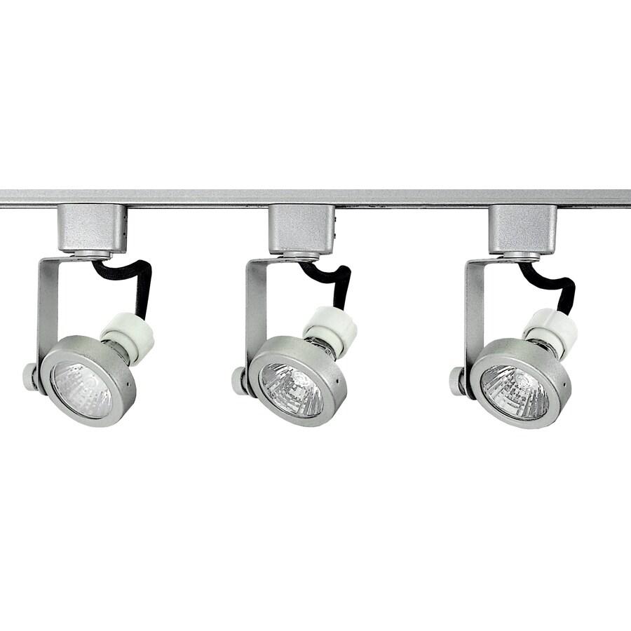 Royal Pacific 3-Light 48-in Brushed Aluminum Gimbal Linear Track Lighting Kit