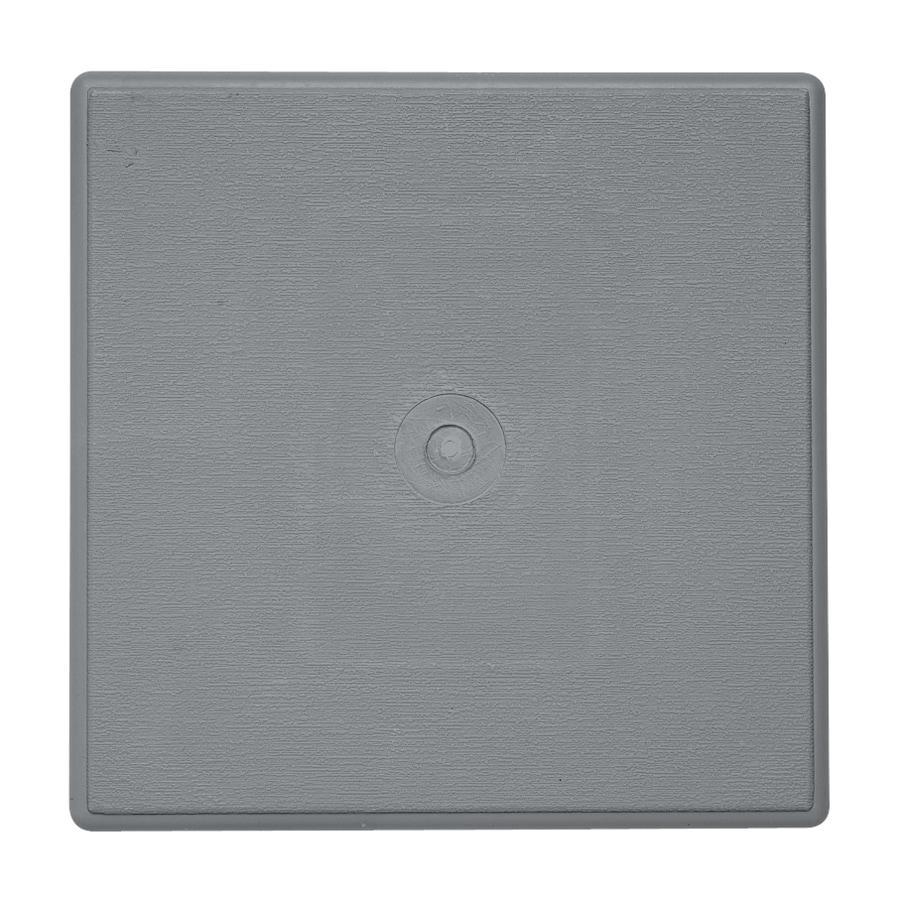 Durabuilt 6.625-in x 6.625-in Wedgewood/Pebble Vinyl Universal Mounting Block