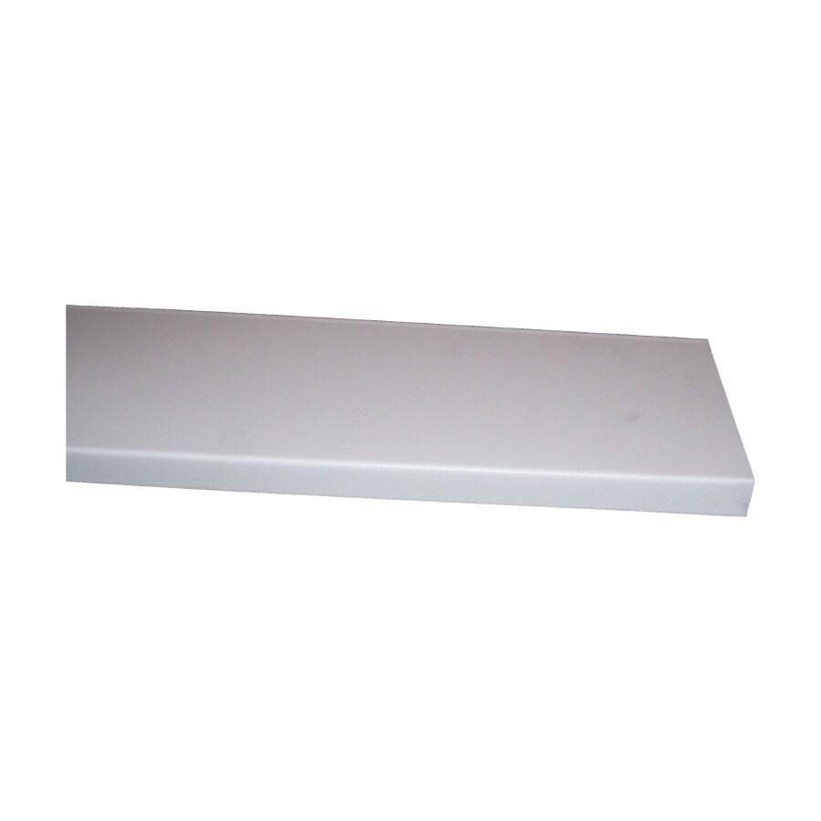 5.875-in x 12-ft White Smooth Fascia