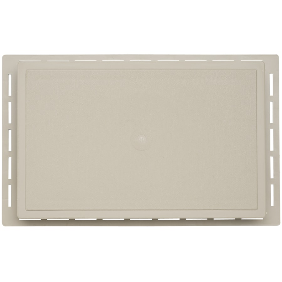 7.875-in x 12.625-in Clay Vinyl Universal Mounting Block