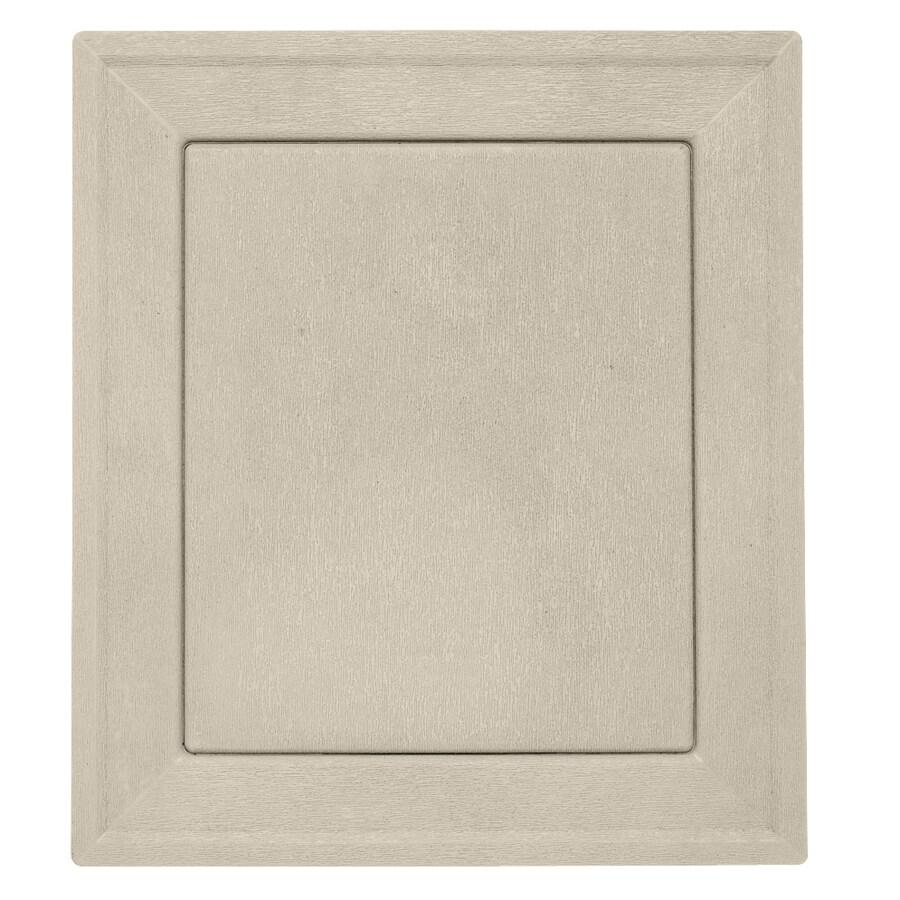 Durabuilt 7.875-in x 8.9375-in Tan/Pebble Vinyl Universal Mounting Block