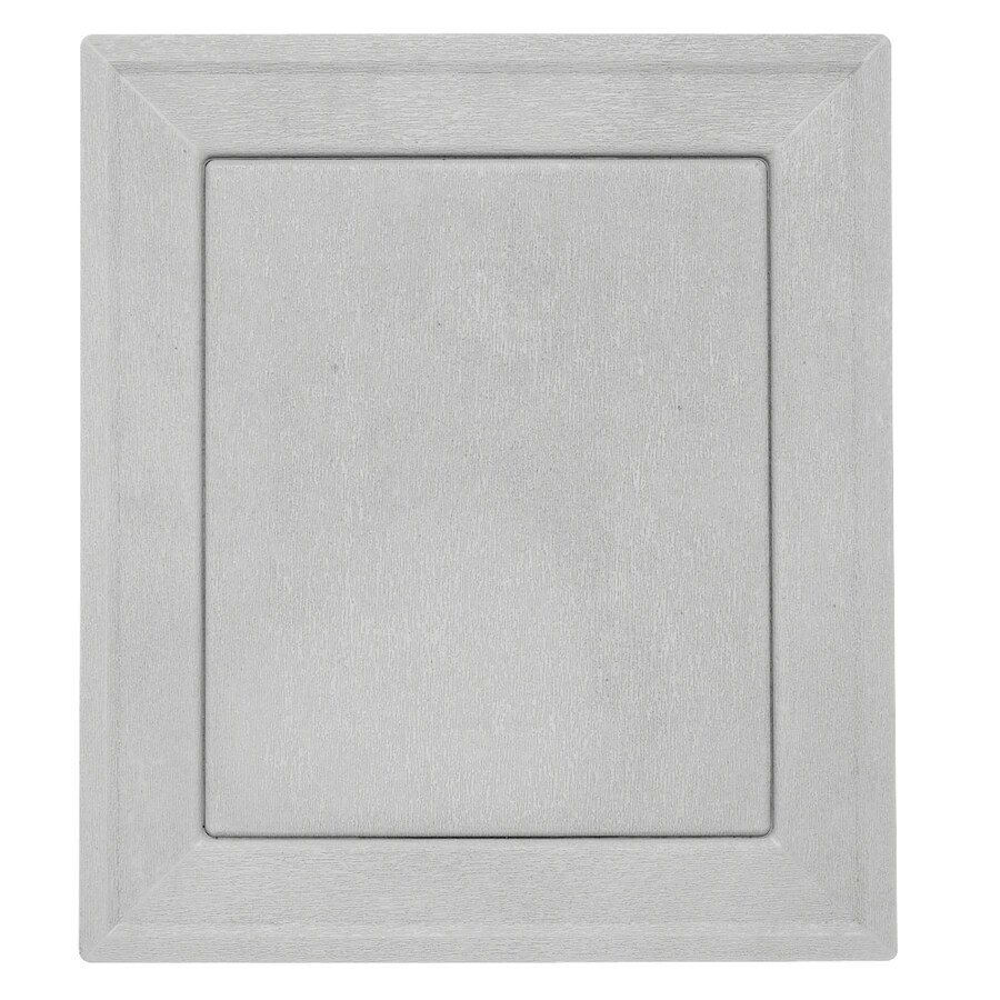 Durabuilt 7.875-in x 8.9375-in Gray/Pebble Vinyl Universal Mounting Block