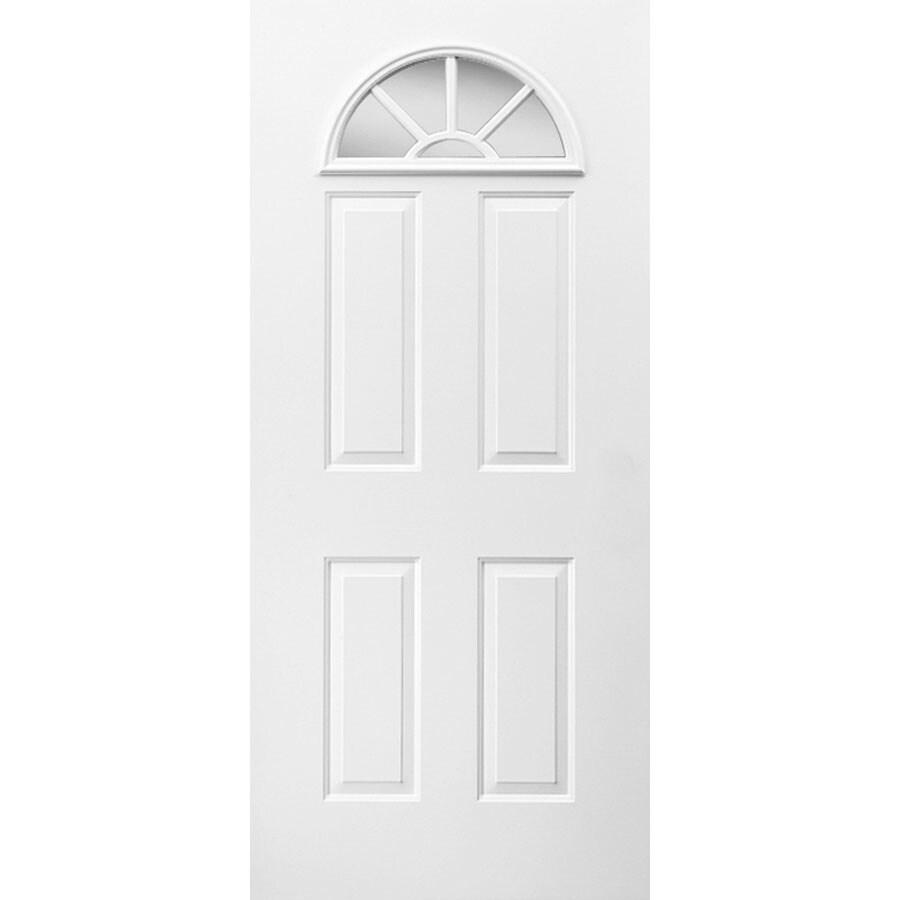 ReliaBilt Fan Lite Inswing Steel Entry Door