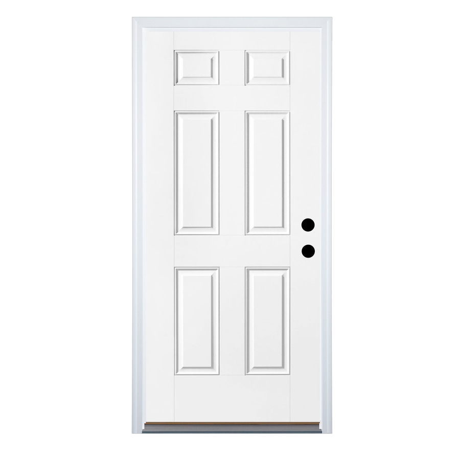 Shop Therma Tru Benchmark Doors 6 Panel Insulating Core
