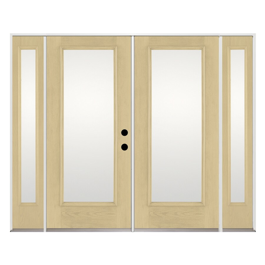 9375 in 1 lite glass fiberglass french inswing patio door at