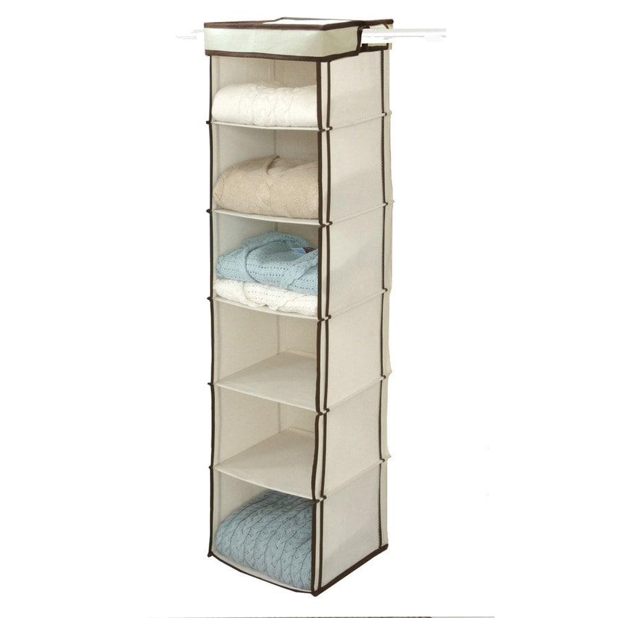 Style Selections Hookless 6-Shelf Organizer