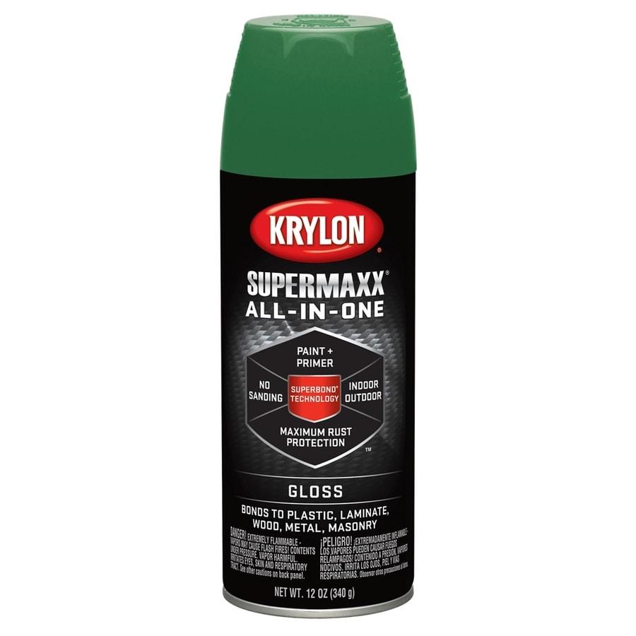 Krylon SuperMaxx Field Green Enamel Spray Paint (Actual Net Contents: 12-oz)