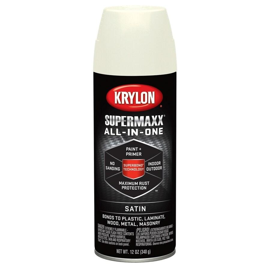 Krylon SuperMaxx Ivory Enamel Spray Paint (Actual Net Contents: 12-oz)