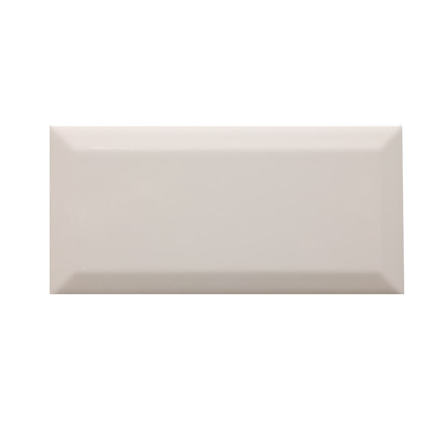 COUNTERPARTS Color Biscuit Ceramic Wall Tile (Common: 3-in x 6-in; Actual: 6-in x 3-in)