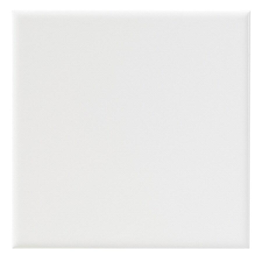United States Ceramic Tile Color White Ceramic Wall Tile (Common: 6-in x 6-in; Actual: 6-in x 6-in)