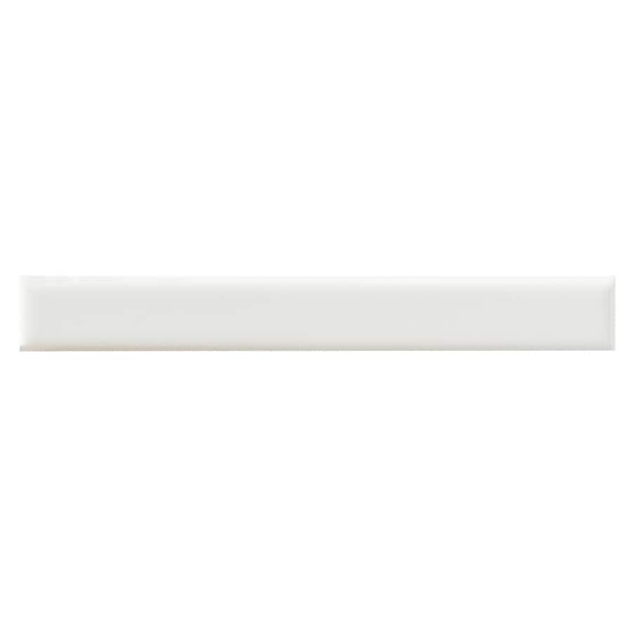 United States Ceramic Tile Color White Ceramic Wall Tile (Common: 3-in x 6-in; Actual: 6-in x 0.75-in)