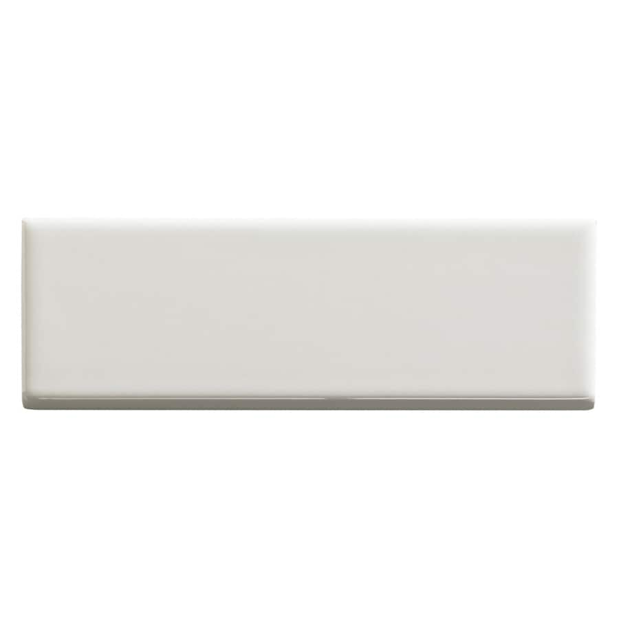 United States Ceramic Tile Color Biscuit Ceramic Wall Tile (Common: 2-in x 4-in; Actual: 6-in x 2-in)