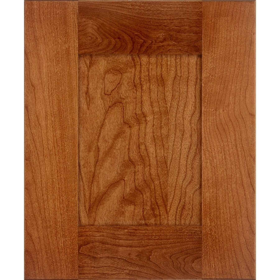 17 5 in x 14 5 in chestnut cherry shaker cabinet sample at lowes com